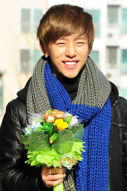 Bap daehyun eye smile