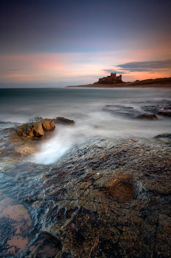 Bamburgh Castle, Northumbria, by Jeanie