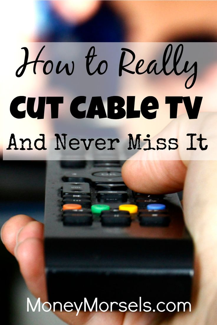 Learn how to finally cut the cord on cable TV and still get nearly all of your favorite shows. Click here for more!