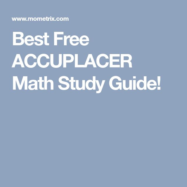 ACCUPLACER Study Guides | The Best Review Books Available