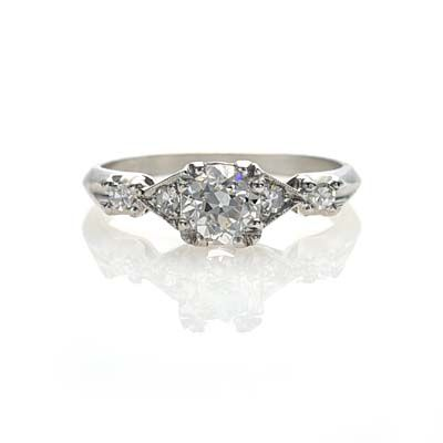 Leigh Jay Nacht Inc. - Circa 1930s Engagement Ring - R205-08