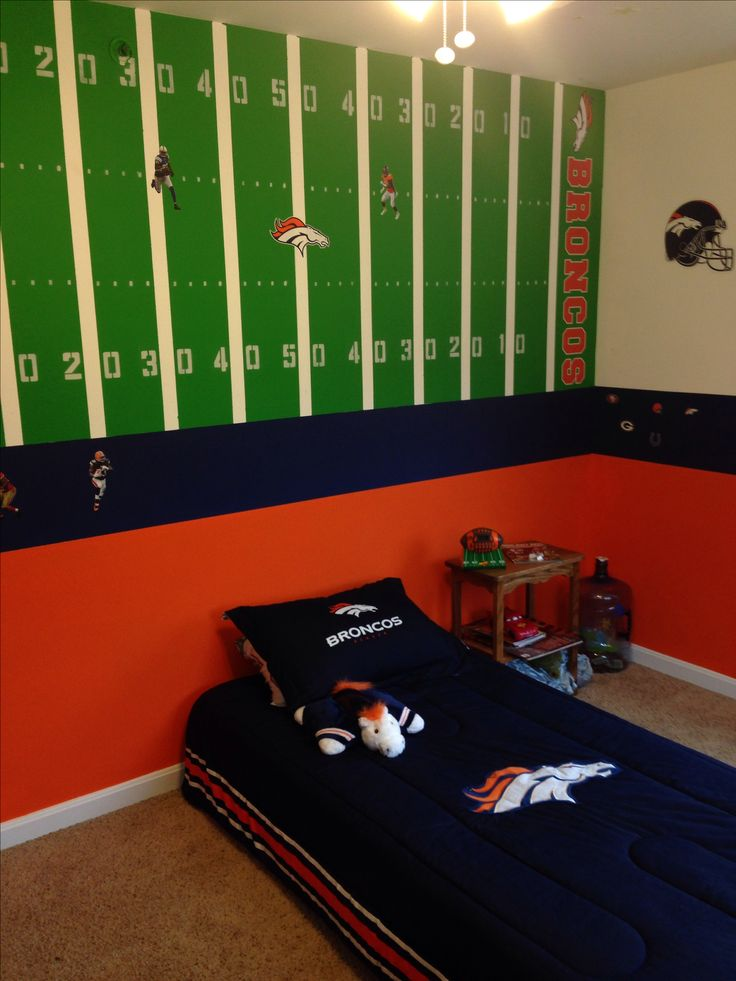 Denver Broncos Bedroom Ideas Interesting Decorating Design