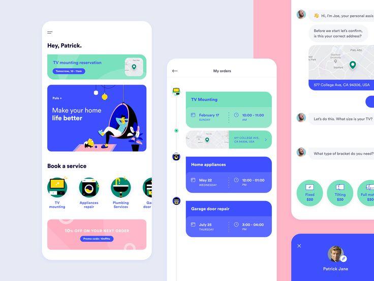 Consumer App App Design Layout App Design Mobile App Design