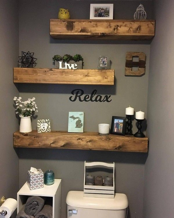 A Guide To Using Pinterest For Home Decor Ideas: Small Bathroom Ideas On A Budget, Bathroom Signs