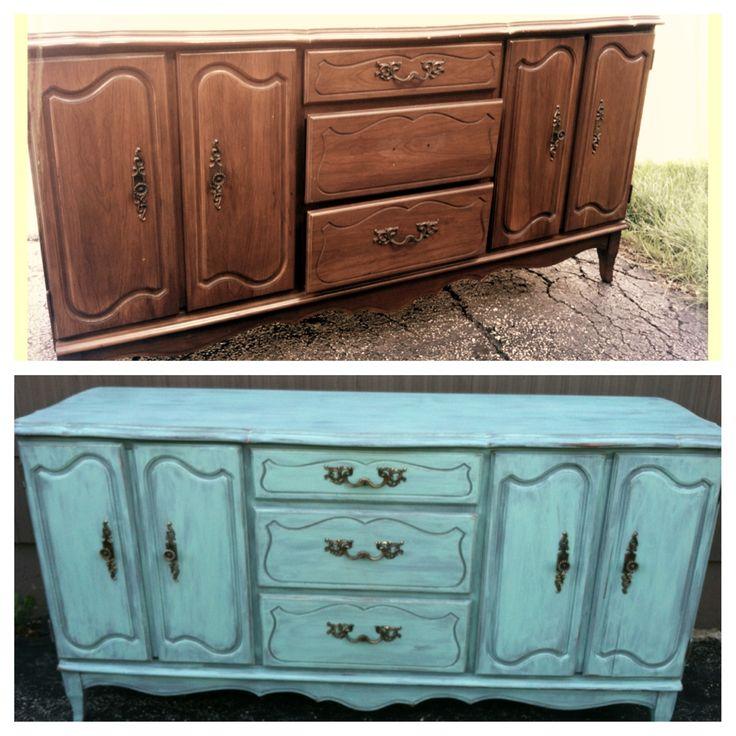 1000 images about DIY furniture on PinterestDiy headboards - Painted Bedroom Furniture Ideas