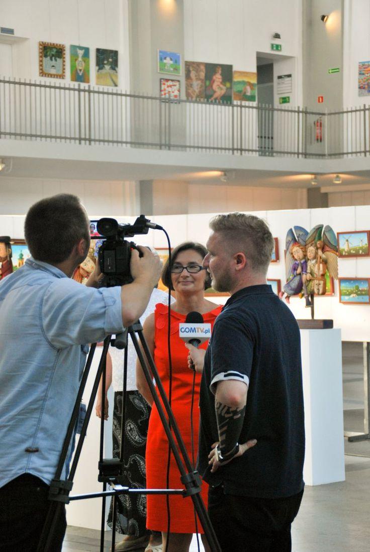 Otwarcie VIII Art Naif Festiwal. Monika Paca-Bros, Dyrektorka Festiwalu.