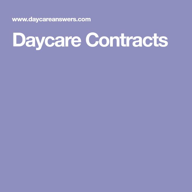 The 25+ best Daycare contract ideas on Pinterest Daycare ideas - free child travel consent form template