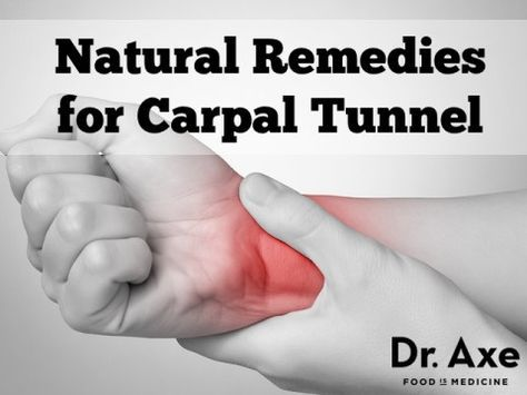 Carpal tunnel is inflammation in the wrist. It can result in either mild tingling or crippling pain. For relief, try these Natural Cures for Carpal Tunnel!