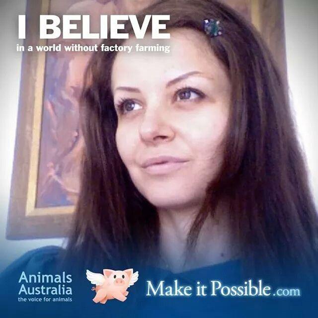 Yes, I believe !!! #yesIbelieve#crueltyfreeworld#makeEarthabeautifulplanet