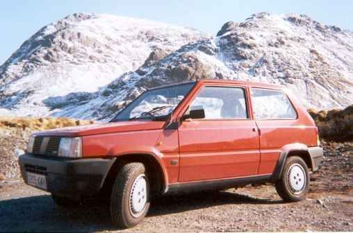 Fiat Panda first facelift – 1986