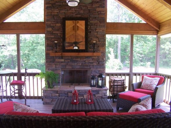 26 Best Images About Screened Porch Ideas On Pinterest