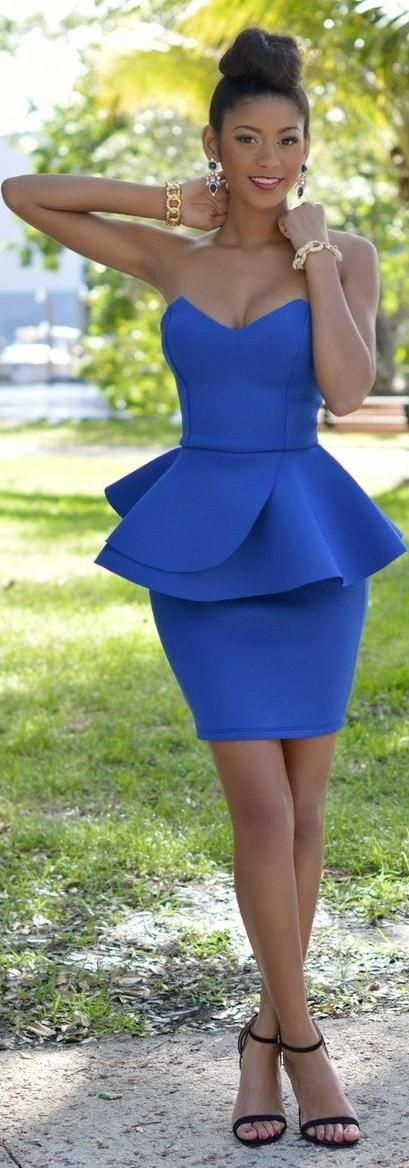 Find Out Why Peplum Dresses Are So Popular
