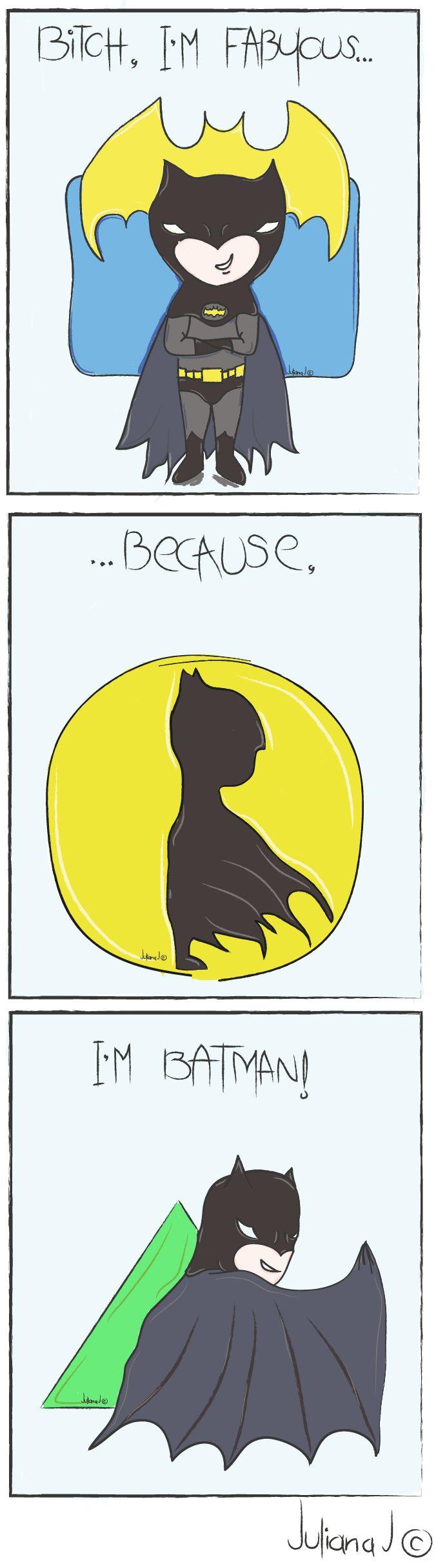 Nananana, BATMAN! #Batman #Ilustration