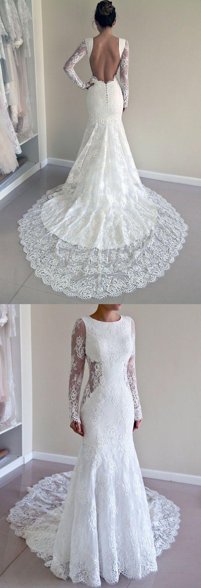 lace wedding dress mermaid wedding