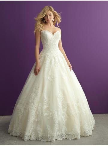 abiti da sposa abito da ballo principessa pizzo