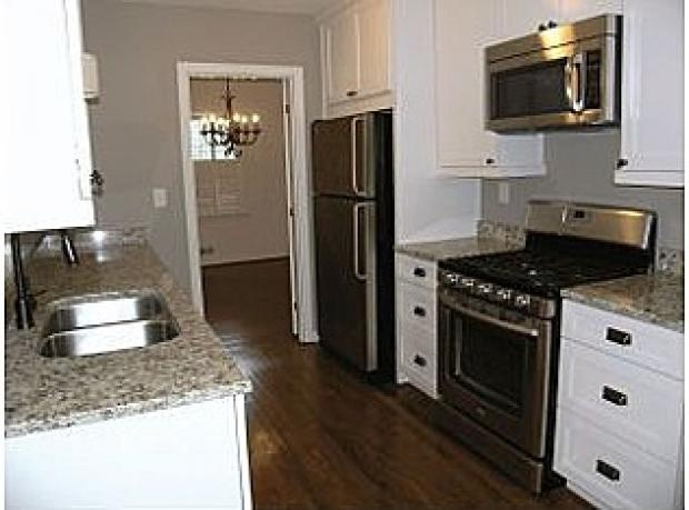 17 best images about galley kitchen on pinterest kitchen for Kitchen cabinets for less