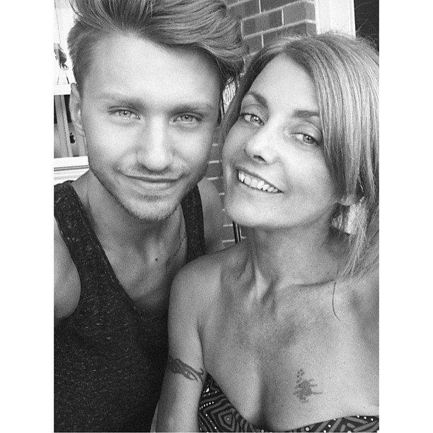 Алекс с мамой