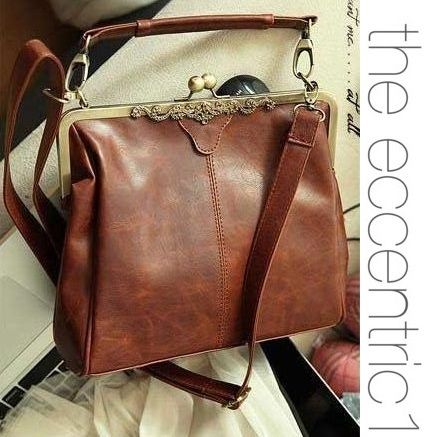 Vintage Lock Handbag from the eccentric1