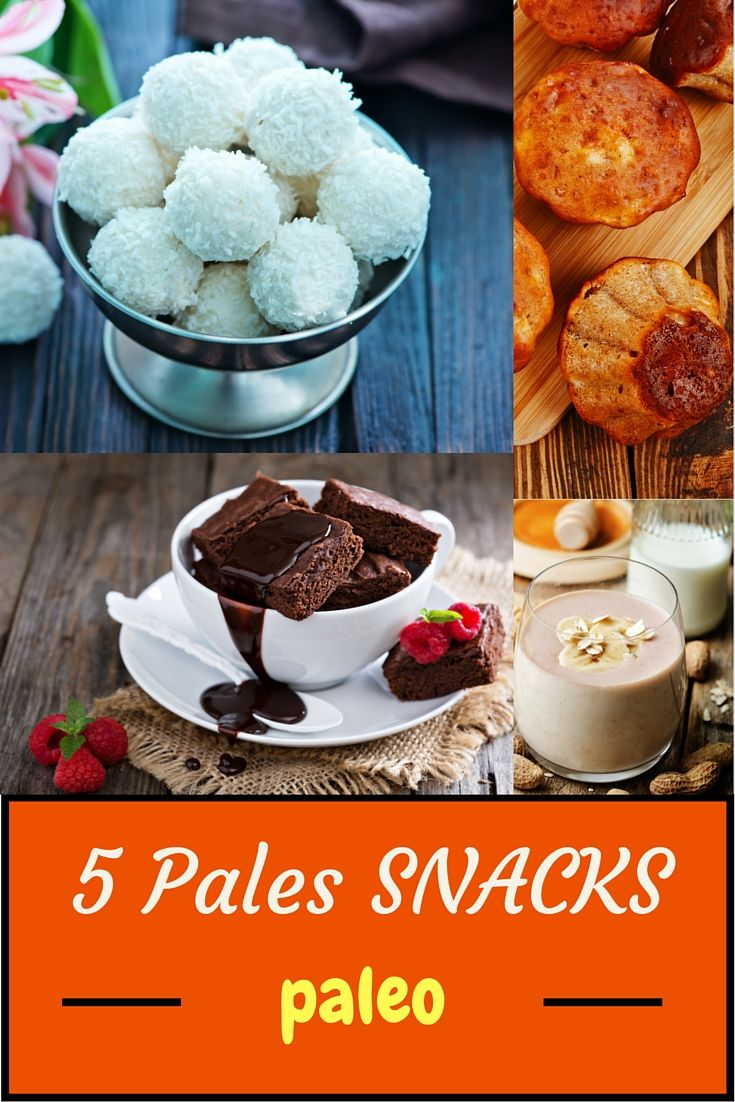 Looking for Paleo snacks ideas? Here are 5 delicious paleo dessert recipes…