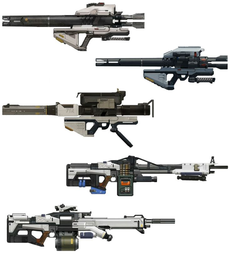 Weapon Designs from Destiny