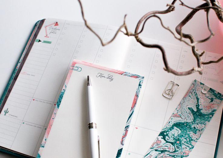En inspirerende kalender i bokform ♥︎