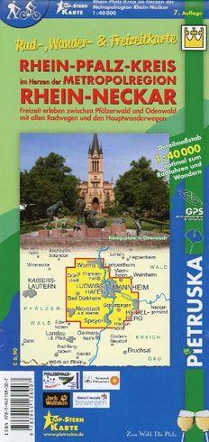 Rhein-Pfalz-Kreis Wanderkarte 1:40.000