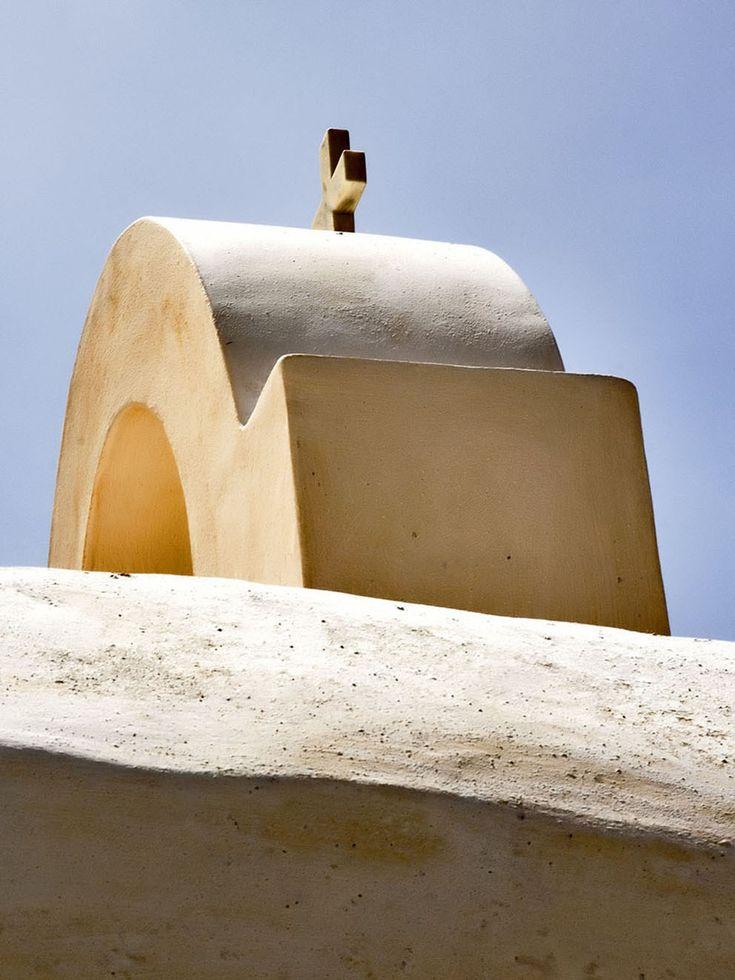 White church in Ios island. #cyclades #greece