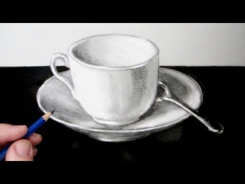 How to Draw a Still Life: A Cup and Saucer - YouTube