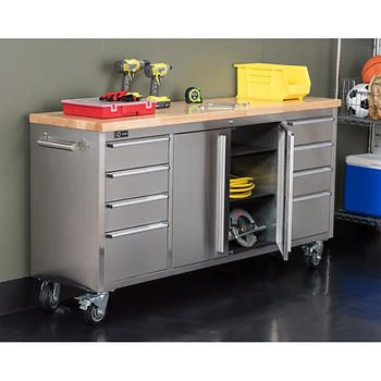 Best 25+ Steel Workbench Ideas On Pinterest | Roll Around Tool Box,  Workbench Top And Industrial Rolling Pins
