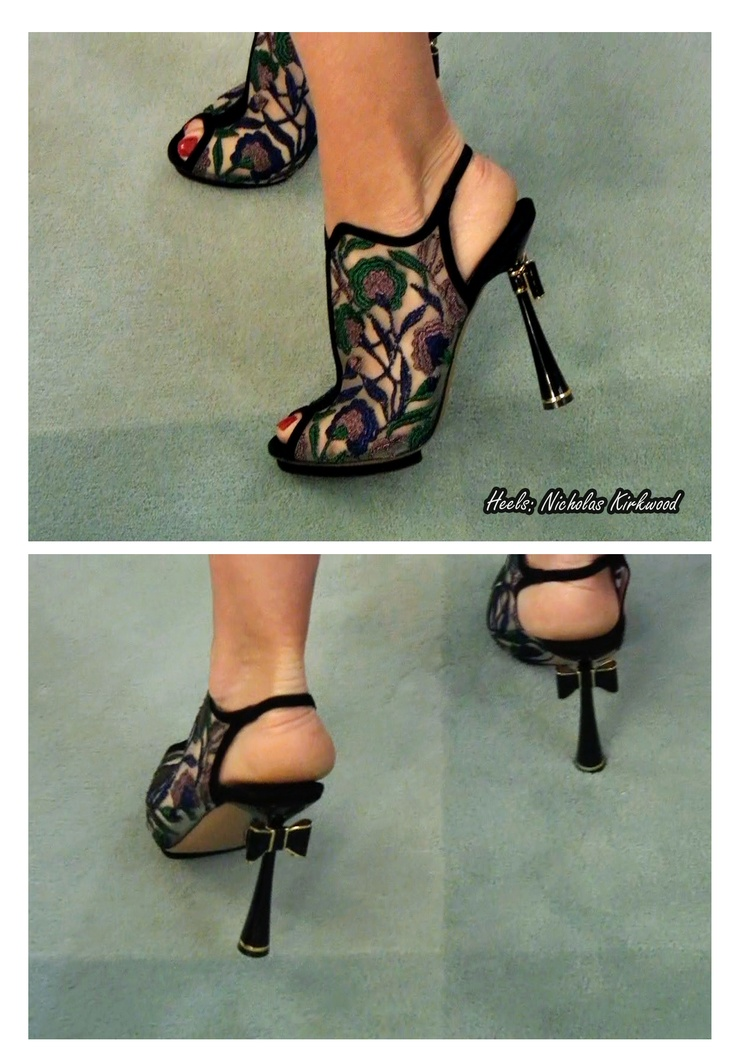 Kelly's newest pair of heels by Nicholas Kirkwood | To see more