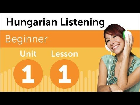 Hungarian Listening Comprehension for Beginners
