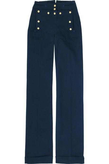 McQ Alexander McQueen Cotton sailor pants