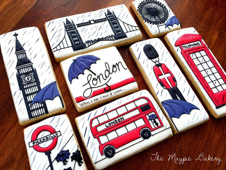 London Rain by Maggie Morrison