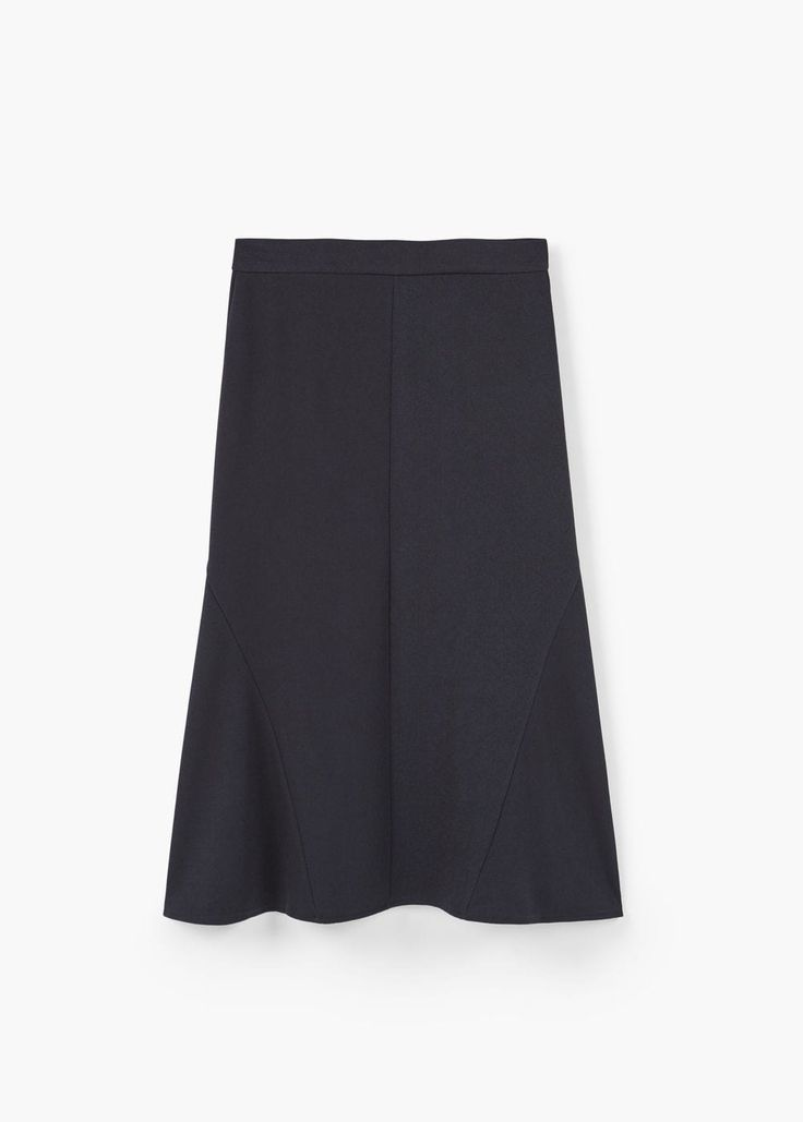 Струящаяся юбка | MANGO МАНГО