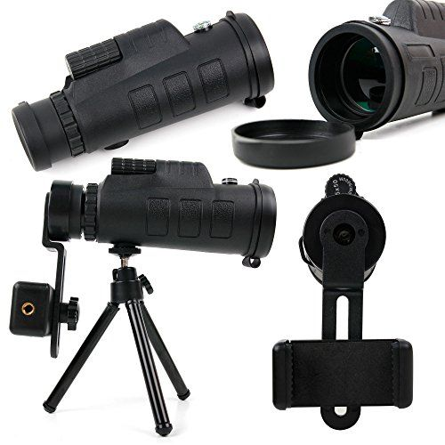 #Telephoto Zoom Lens Kit for Smartphones with Tripod  Carry Bag - for the BlackBerry Motion - by DURAGADGET