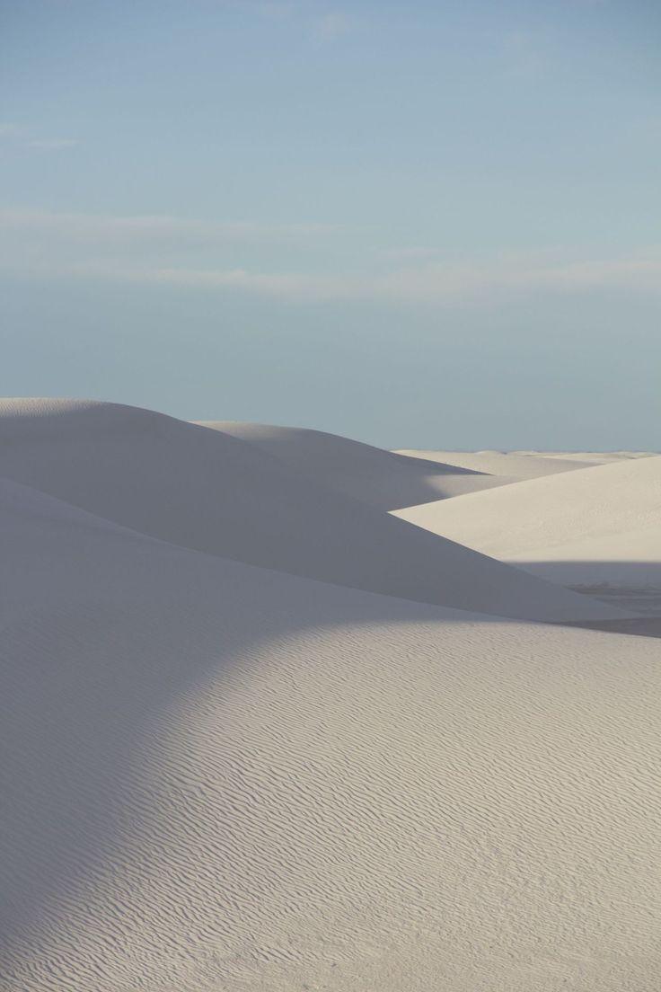 Désert de White Sands au Nouveau-Mexique (États-Unis)