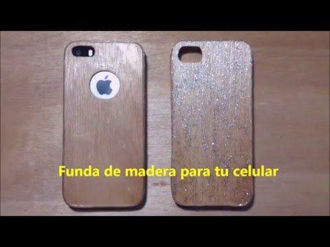 83243605c76 Cómo hacer una funda para el celular con ¿Madera? (Real) | Pablo Inventos -  YouTube | Imágenes | Madera, Fundas para celular y Cómo hacer
