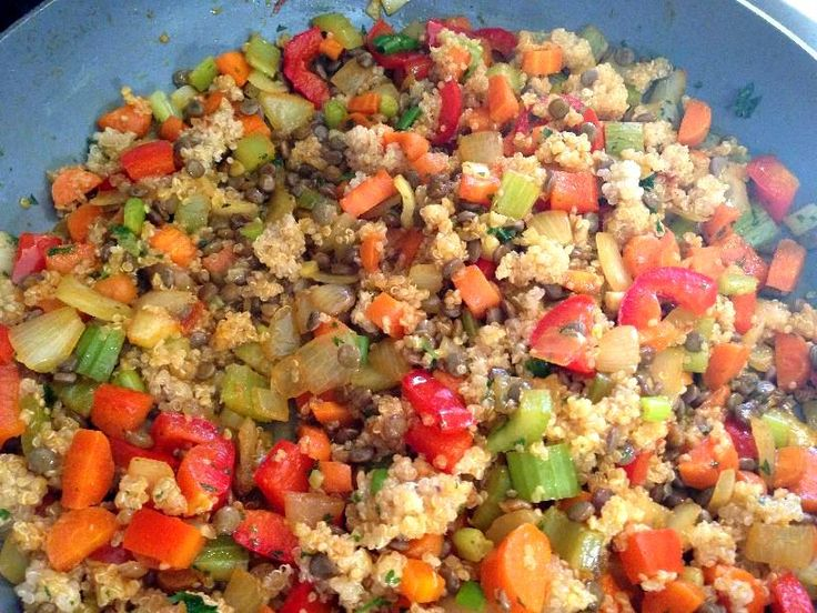 Quinoa Lentil Pilaf (My fav recipe from Ultimate Reset) - Anchor Your Soul
