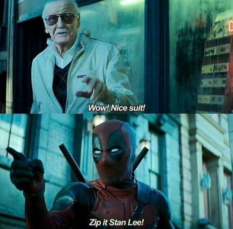 Best part of Deadpool short right here!!!
