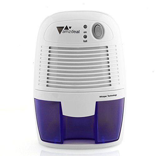 Amzdeal Déshumidificateur Electrique avec 500ML Réservoir d\u0027eau pour - deshumidificateur d air maison