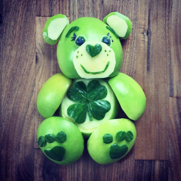 Good Luck care bear by Shannon Mazzei (@foodartfun)