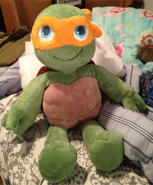 Michelangelo Plush by sharpie91 on deviantART #tmnt | TMNT ...