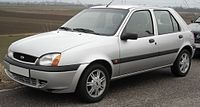 Ford Fiesta Mark 4 1999–2002 had in navy Bought from Arnold Clark Wellington Road
