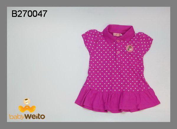 B270047  Dress polkadot ungu  Bahan halus dan lembut  Warna sesuai gambar  IDR 95*