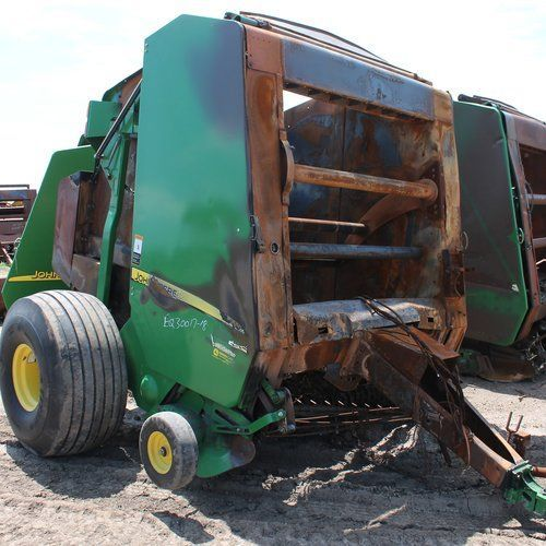 This John Deere 567 Baler just arrived at our Salem, SD yard  Call