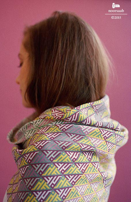 noorsaab | Lookbook 05 | Neruda luxury silk scarf