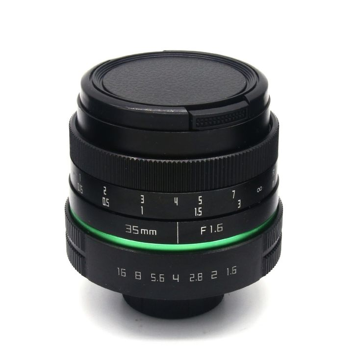 59.91$  Know more  - 35mm f1.7 new green circle Large Aperture Manual Focus camera  lens APS-C For Sony E Mount cameras NEX7 a6300