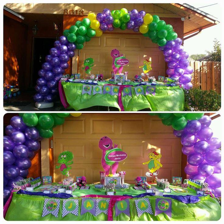 barney Birthday Party Ideas | Photo 1 of 8