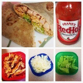 Buffalo Chicken Wrap (21 DAY FIX) approved!
