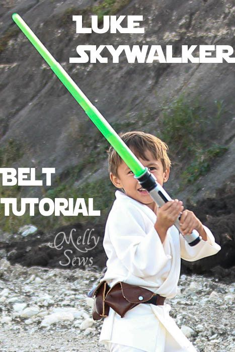 Luke Skywalker: Belt Tutorial - Melly Sews (could be a pirate belt too, after adding a place for a sword scabbard)